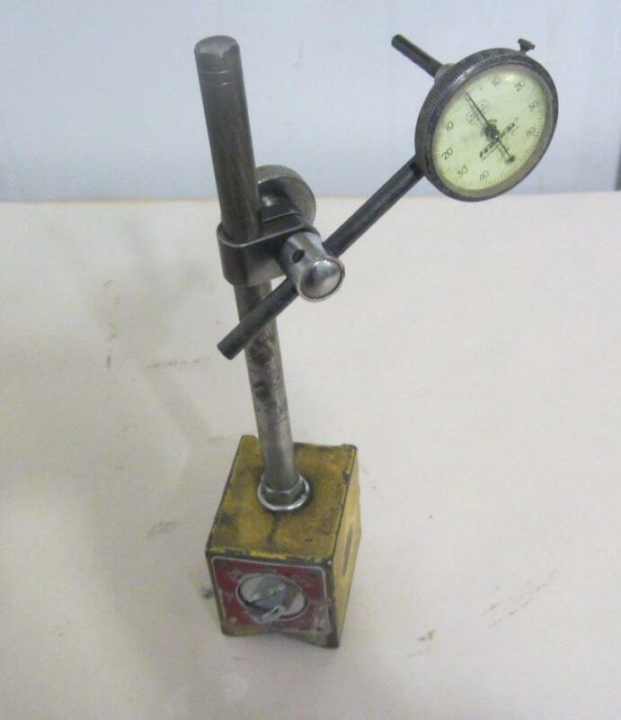 Vintage Enco 300 Magnetic Base W/Federal Indicator V81