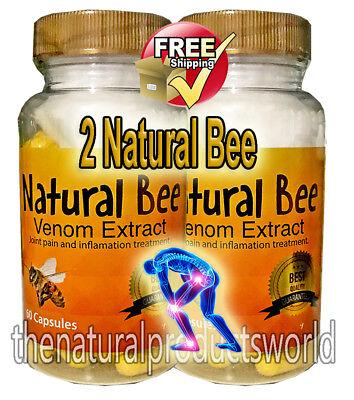 Natural Bee 2 BIOBEE inflamatory Arthritis Pain abeemed therapy Venom veneno