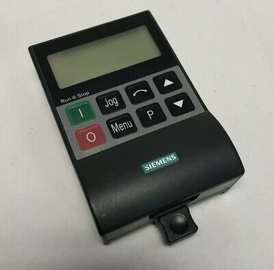 Siemens Operator Interface Opm2 6se32900xx878bfo Display