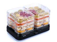 Professional 4 Tray Food Dehydrator Plus Fruit Dryer Machine Thermostat Control