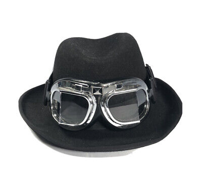 Steampunk Scala Classico Godfather 100% Wool XL Costume Party Cosplay Goggles