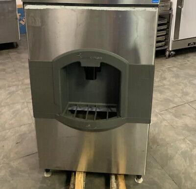 Scotsman Stainless Steel Ice Dispensing Bin 120v Has Agitation