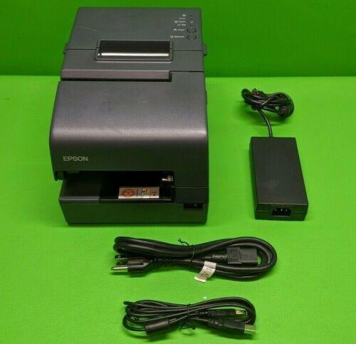 Epson USB Thermal Receipt Printer w/ PS-180 Supply TM-H6000IV 074 M253A