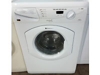 a166 white hotpoint 5+5kg 1400spin washer dryer comes with warranty can be delivered or collected
