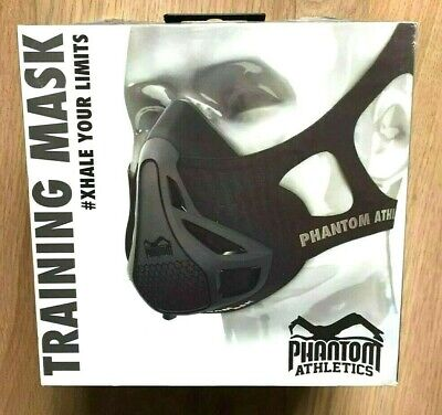 PHANTOM TRAINING MASK Fitness Boxing Gym MMA Sport Breathing Trainer Device M