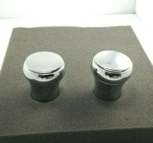 """Price Pfister Vintage Brass Replacement Shower Faucet Knob Handle 2""""  - Chrome"""
