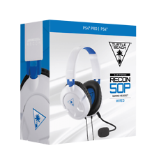 Turtle Beach Recon 50P White Stereo Headset PS4