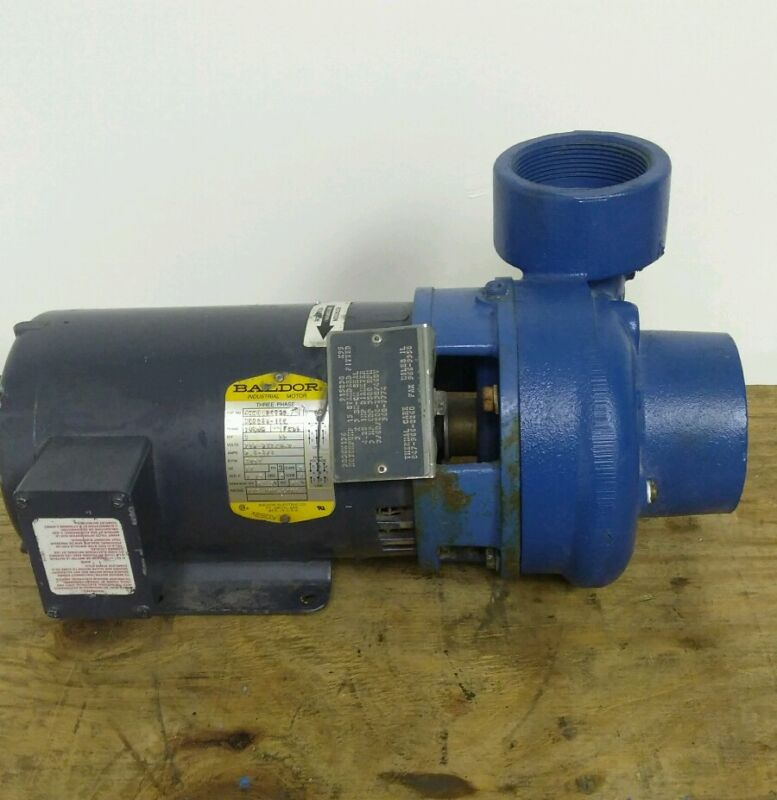"Scot Centrifugal Pump 3 HP  3"" thread inlet/outlet 3 Phase"