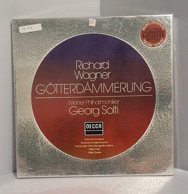 Richard Wagner Gotterdammerung By Georg Solti 1983 4Lp's Album Decca Records