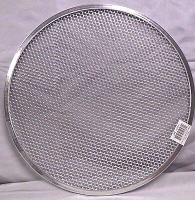 "14"" or 16"" PIZZA SCREEN Aluminum Seamless Rim Home or Restaurant Cooking Tray"