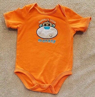 CLEARANCE! JUMPING BEANS 3 MONTH MOMMY'S LITTLE MONKEY BODYSUIT REBORN