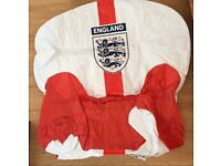 Inflatable England Armchair - Never Used
