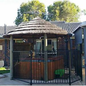 Bali Hut Thatched Roof and Fencing Bunya Brisbane North West Preview