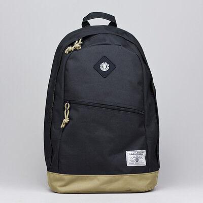 Element Camden Bag Brand new Black Backpack/Rucksack/Shoulder Bag