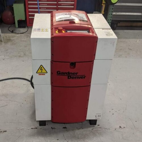 Used Gardner Denver 15 HP L11 Rotary Screw Air Compressor Very Clean 480 Volt