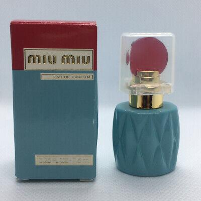 MIU MIU Eau De Parfum Splash MINI 7.5ml 0.25oz New in Box Prada Women Perfume