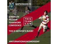 Inspired by the Six Nations? Join Watsonians Ladies Rugby!