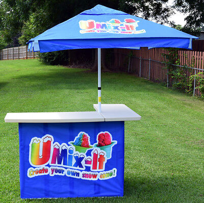Portable Snow Cone Stand - Shaved Ice Stand - Concession Stand