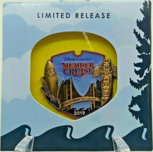 NIB ~ Disney Vacation Club 2019 Member Cruise Limited Released Pin DVC