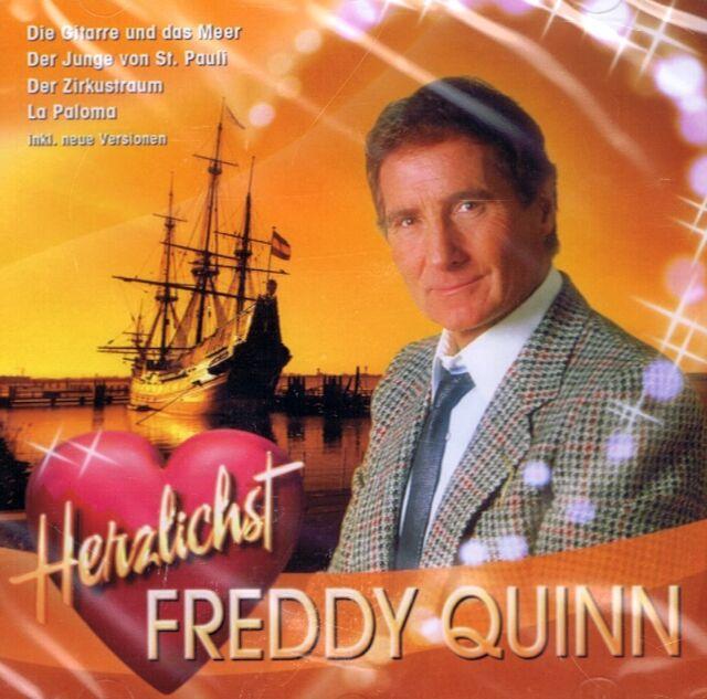 MUSIK-CD NEU/OVP - Freddy Quinn - Herzlichst