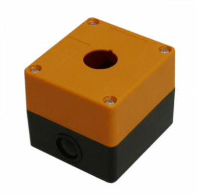 1-hole Switch Box For 22mm 78 Pushbutton Plastic Enclosure Power Push Button