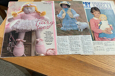 3vintage Doll Knitting Patterns