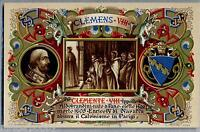 Papa Clemente Viii Roma Vaticano Art Nouveau Pc Circa 1900 Armanino - armani - ebay.it
