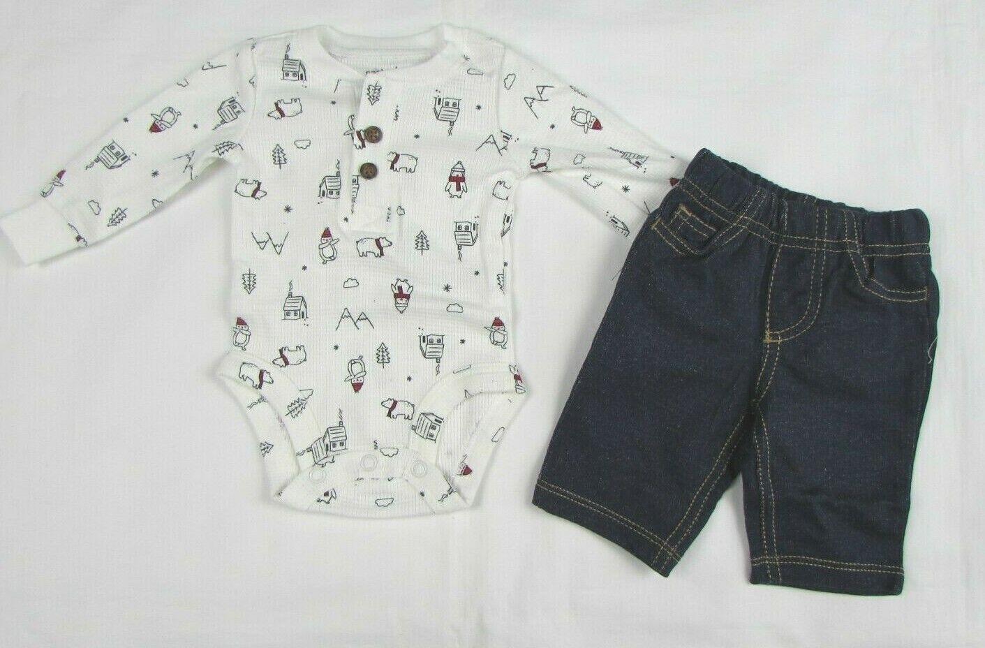 Baby boy clothes, 18 Months , Carter's 2 piece pant set NEW