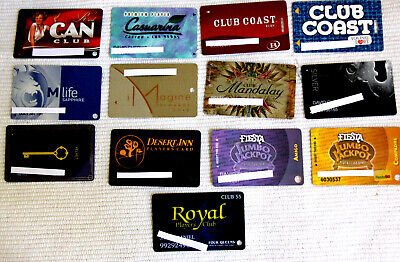 13 DIFFERENT CASINO BAR PLAYERS CLUB CARDS - #3