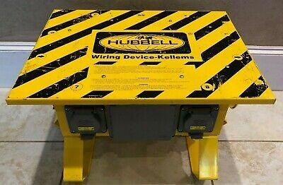 Hubbell Power Distribution Box Spider Wiring Device Sbtl2 50 Amp 125250v