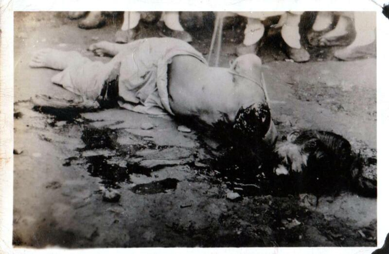 128 WWII Japanese Gruesome Execution Photo FREE SHIPPING & 450,000+ Scans!