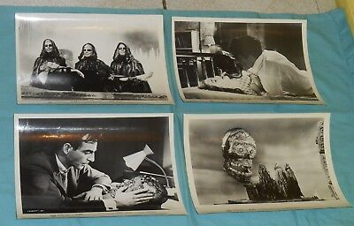 original 1961 THE MASK PRESS PHOTO LOT x4