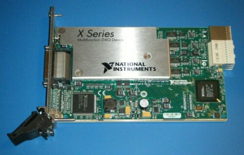 NI PXIe-6363 32ch AI X-Series Multifunction DAQ National Instruments *Tested*