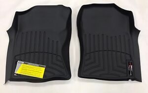 WeatherTech Floor Mats FloorLiner for Toyota Tacoma - 2001-2004 - Black