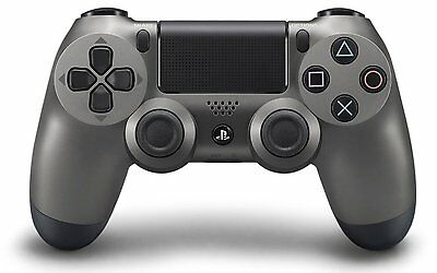 PS4 Dual Shock Wireless Controller - Steel Black (Sony)