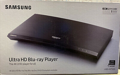 Samsung UBD-M7500/ZA 4K Ultra HD Blu-ray Player Hardwired Only