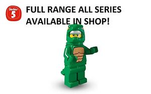 Lego minifigures lizard man series 5 (8805) unopened new factory sealed