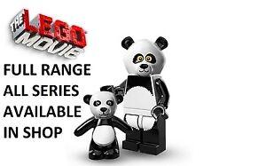 Lego minifigures panda guy lego movie series (71004) new factory sealed