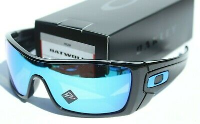 OAKLEY Batwolf Sunglasses Polished Black/Prizm Sapphire Iridium NEW OO9101-5827