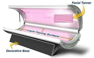 Wolff SunFire 24 Elite w/ Facial Tanning Bed - Home Tanning Bed + Made in USA