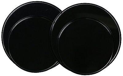 Reston Lloyd Electric Stove Burner Covers, Set of 4, Black, New, Free Shipping