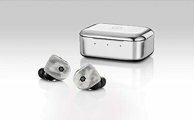 Master & Dynamic MW07+ White Marble True Wireless Earphones Bluetooth...