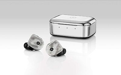 Master & Dynamic MW07+ White Marble True Wireless Earphones Bluetooth...