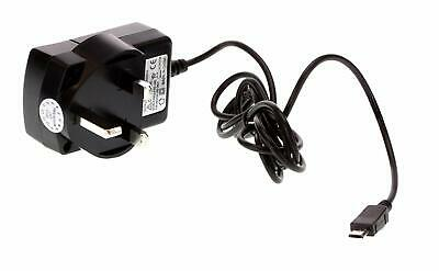 Kit Power Micro USB UK Mains Travel Charger Samsung Galaxy S2/S3/S4 - Black Samsung Travel Charger Kit