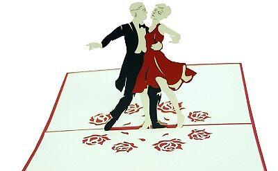 *Tänzer* Tanzen Tanzpaar, Gutschein zum Tanzkurs, Tanzparty (Karte N Party)