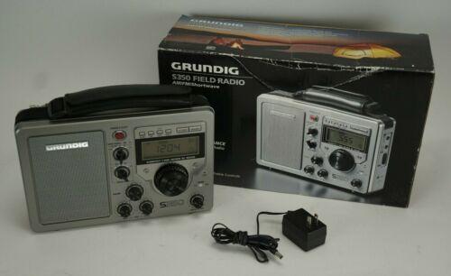 Grundig S350 Field Radio AM/FM/Shortwave