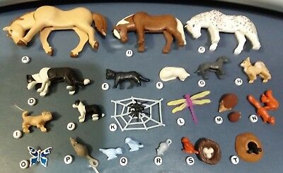 Playmobil Animals Dogs Horse Ponies Cats