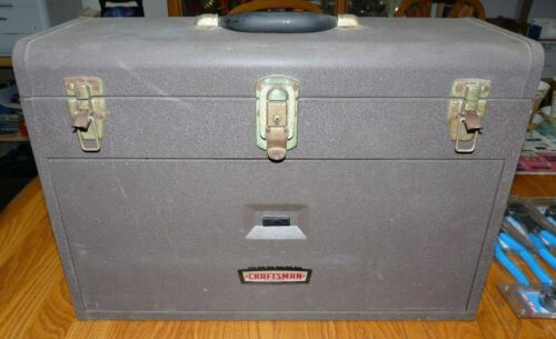 Vintage Craftsman Machinist Tool Box 6 Drawer
