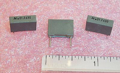Qty 10 .01uf 630v 5 Polyester Film Capacitor R60103j630b Arcotronics