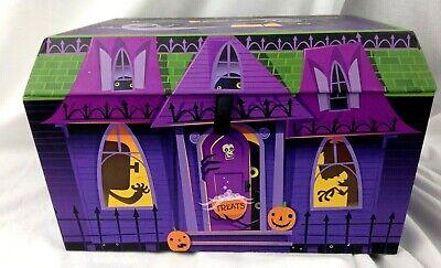 "Hallmark Halloween spooky haunted house box creepy sounds 11"" collectible"